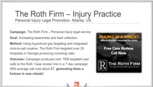 Roth Law Firm example